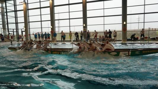 Otwarte Mistrzostwa Wielkopolski Smoczych Łodzi na basenie