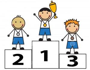 award-winners-cartoon-men-stand-podium-children-were-awarded-medals-cups-35732846